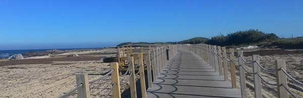Caminhar pelo litoral Portugues